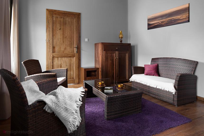 Salon w apartamencie Kalebasa