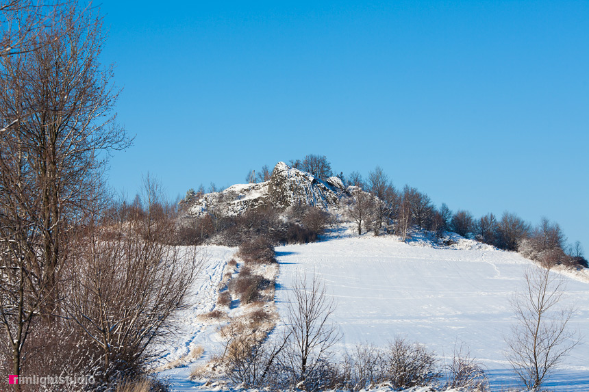 Czartowskie Skały zimą