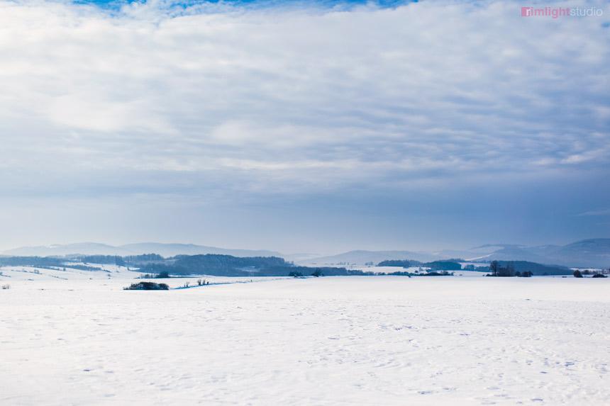 Góry Kaczawskie zimą