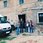 Potomkowie niemieckich właścicieli odwiedzili nas w roku 2011, kiedy rozpoczęły się nasze pierwsze prace renowacyjne.