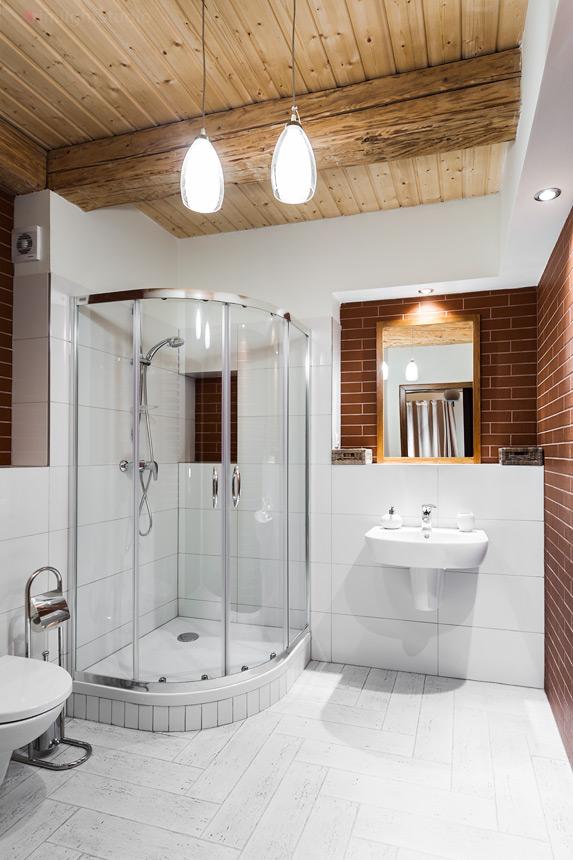 Łazienka w apartamencie Bera Boska