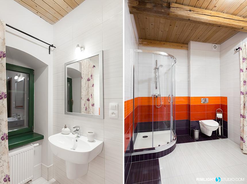 Łazienka w pokoju Dobra Ludwika