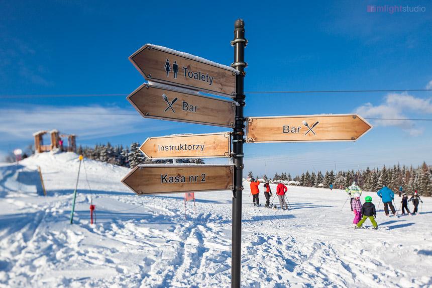 Stok narciarski Ski Arena Łysa Góra