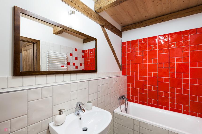 Druga łazienka w apartamecie Guyota