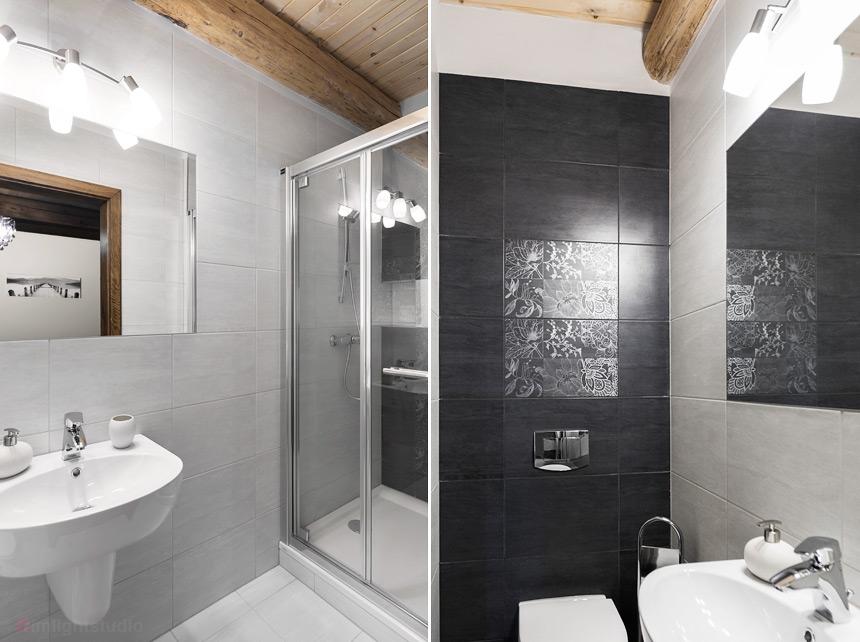 Łazienka w pokoju Żyfardka