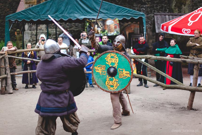 Walki rycerzy na Zamku Grodziec