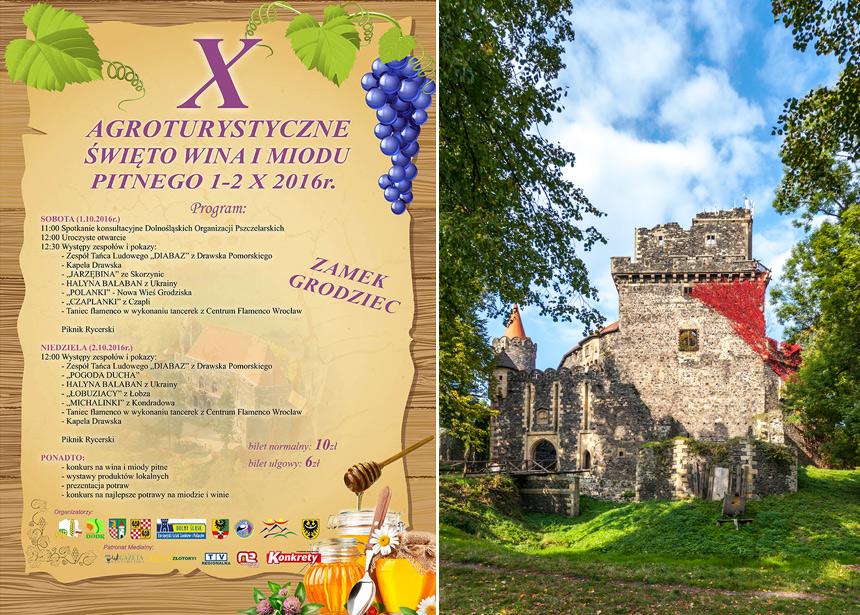 X agroturystyczne święto wina i miodu pitnego na Zamku Grodziec
