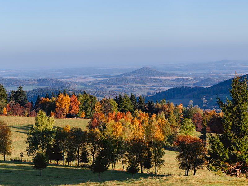 Jesień w Sudetach